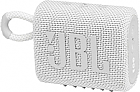 JBL GO 3 Portable Waterproof Speaker - White
