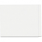 Letter Size, End Tab, File Folder with Fasteners in Position #1 and #3, 14pt thickness, White, 75/Box